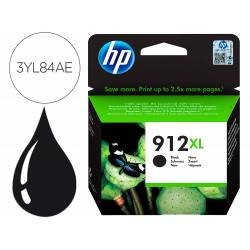 INK-JET HP 912 XL OFFICEJET 8010 / 8020 / 8035 NEGRO 825 PAG