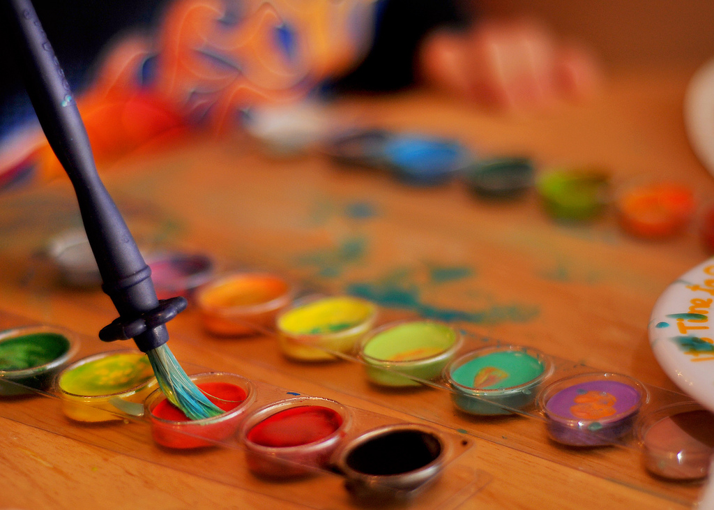 Cómo Pintar Con Témperas Blog De Materialescolares