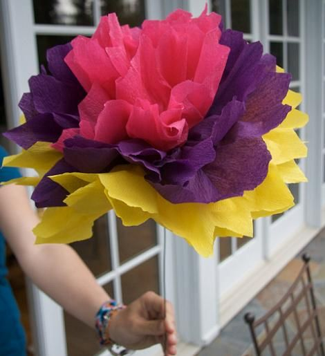 Flor de papel pinocho