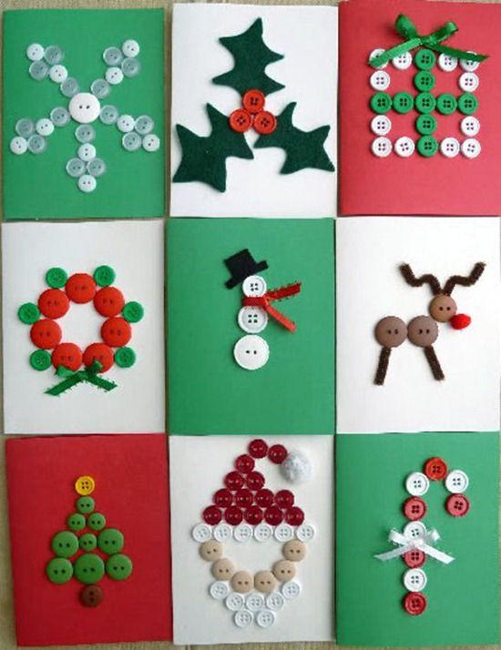 Tarjetas Navideas Para Hacer Beautiful Navideas Para Nios Arbol - Tarjetas-navideas-para-nios
