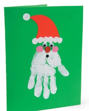 felicitaciones navideas con tus propias manos - Como Hacer Una Postal De Navidad