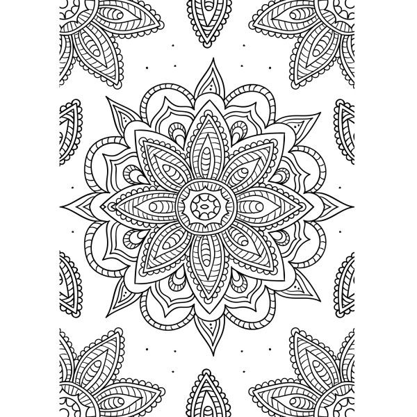 Mandalas Para Colorear | Blog de Materialescolar.es
