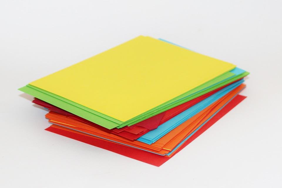 Manualidades papel celofán