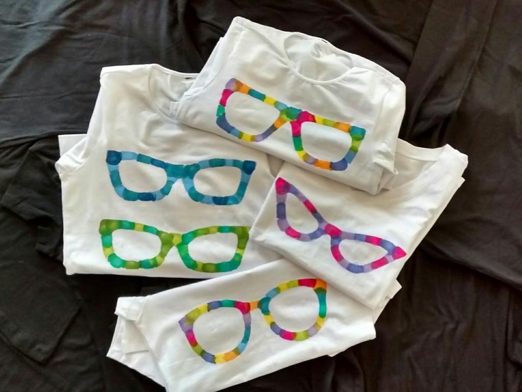 C mo hacer camisetas personalizadas en casa con pintura - Pintura para camisetas ...