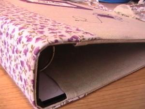 C mo forrar mis archivadores material escolar blog - Como forrar un armario con tela ...