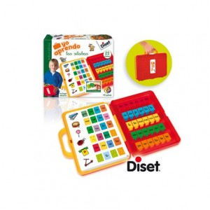 Juego didactico a partir de 5 años Yo aprendo las silabas Diset