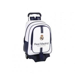 Mochila Escolar Real Madrid Con carro 905 33x15x43 cm 1º equipación