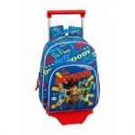 Mochila Escolar Toy Story 4 34x28x10 cm de Poliester Con ruedas