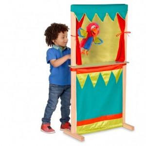 Juego Infantil a partir de 3 años Tetro de marionetas Fiesta Crafts