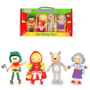 Marioneta de dedo Personajes Caperucita Roja partir de 3 años Fiesta Crafts