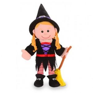 Marioneta de mano Bruja a partir de 3 años Fiesta Crafts
