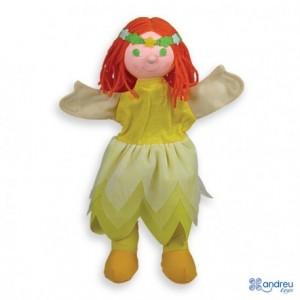 Marioneta de mano Ninfa partir de 3 años Andreutoys