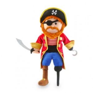 Marioneta de mano Pirata a partir de 3 años Fiesta Crafts