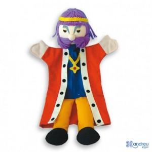 Marioneta de mano Rey a partir de 3 años Andreutoys