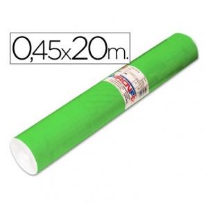 Aironfix Rollo Adhesivo 45cm x 20mt Unicolor Verde Medio 100 MC