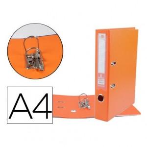 Archivador de palanca 75 mm Liderpapel Din A4 color naranja
