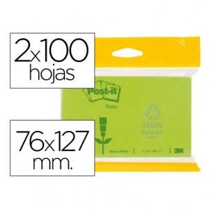 Bloc quita y pon Post-it ® 76 x 127 mm
