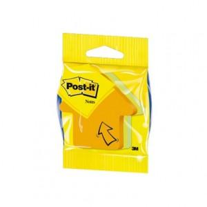 Bloc quita y pon Post-it ® Forma de flecha