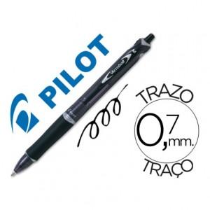 Boligrafo Pilot Acroball Negro 0,7 mm