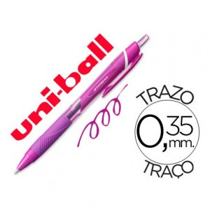 Boligrafo Uni-Ball roller SXN-157C Jetstream color violeta 0,35 mm