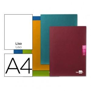 Libreta escolar Liderpapel Scriptus Liso A4
