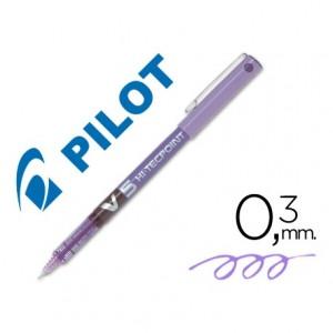 Rotulador Pilot V-5 Violeta