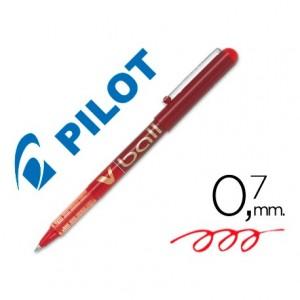 Rotulador roller Pilot V-Ball Rojo