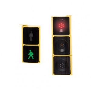 Semaforo Led para vehículos y peatones Amaya