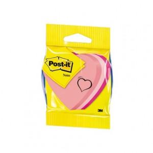 Bloc quita y pon Post-it ® forma de corazon