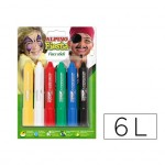 Barra de maquillaje Alpino stick 6 colores