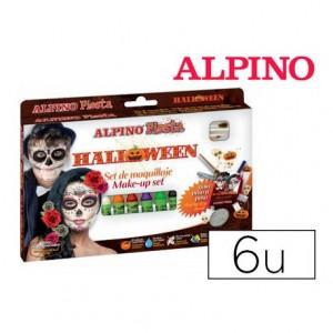 Barra maquillaje Halloween 6 colores surtidos marca Alpino