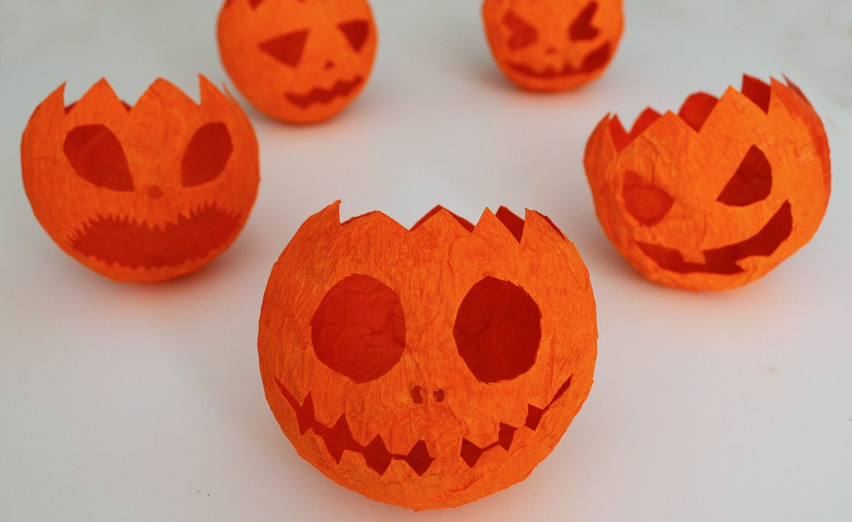 Manualidades Faciles Para Decorar En Halloween Material Escolar Blog - Manualidades-de-halloween-para-decorar