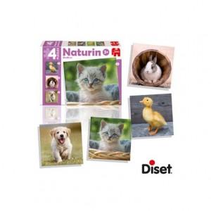 Puzzle Naturin animales a partir de 3 años Diset
