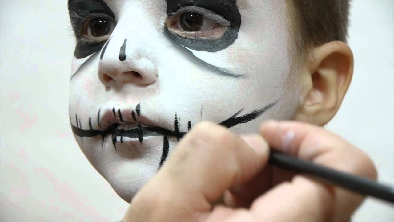 Pinturas cara Halloween