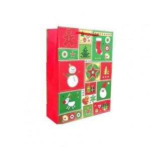 Bolsa para regalo Mediana Detalles Navidad marca Arguval