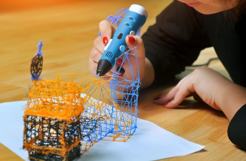 Cómo usar el bolígrafo 3d
