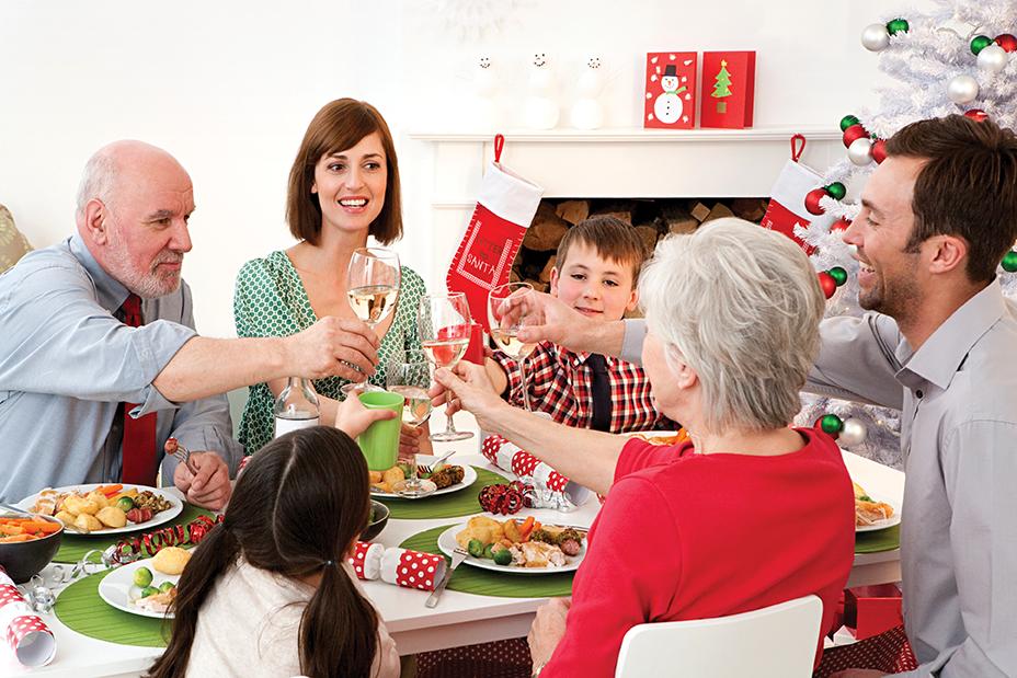 Cómo organizar bien las comidas o cenas de Navidad