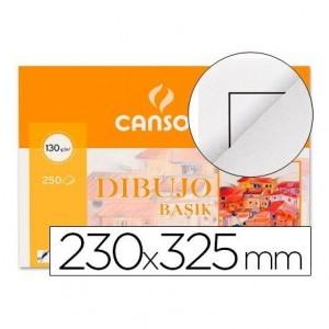 Papel dibujo Canson 230x325 mm gramaje 130g m2