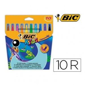 Rotulador Bic Kid Visaquarelle 10 unidades
