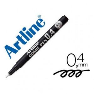 Rotulador Color Negro Artline EK-2805 Calibrado Micrométrico 0,4 mm