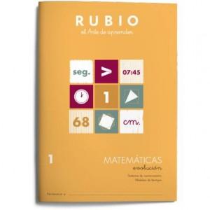 Cuaderno Rubio Matemáticas nº 1 Sistema de numeración Medidas de tiempo