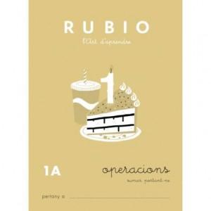 Cuaderno Rubio Operacions nº 1A Sumar llevando en Catalán