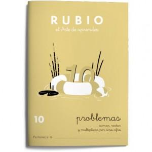 Cuaderno Rubio Problemas nº 10 Sumar, restar y multiplicar por una cifra