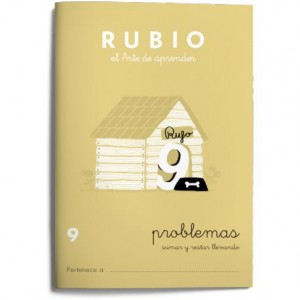 Cuaderno Rubio Problemas nº 9 Sumar y restar llevando