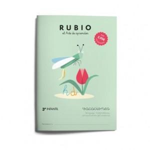 Cuaderno Rubio Vacaciones 3º Educación Infantil