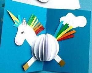 f94b1eb12 Cómo hacer tarjetas de cumpleaños fáciles - Material Escolar Blog