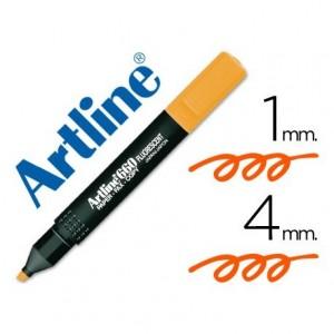 Rotulador Artline EK-660 Naranja