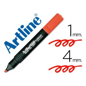 Rotulador Artline EK-660 Rojo