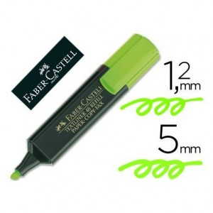Rotulador Faber-Castell Color verde