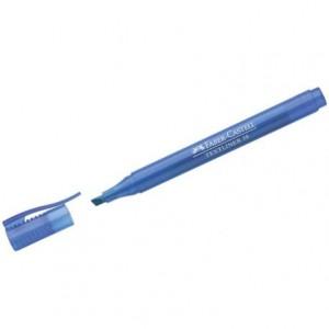 Rotulador Faber Castell fluorescente Textliner 38 azul